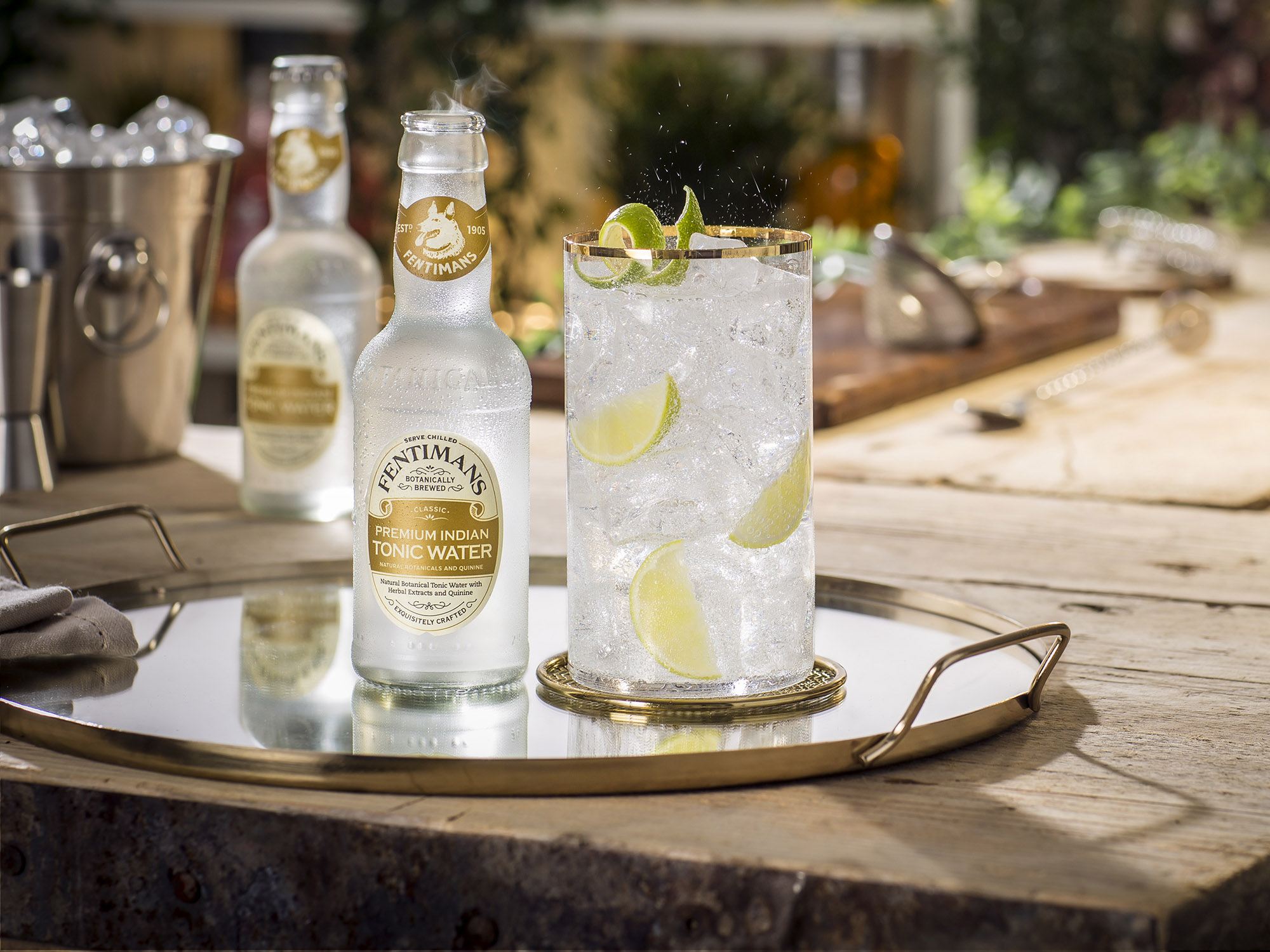 Premium Indian Tonic Water: New and Improved!