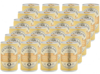 Premium Indian Tonic Water 24 x 150ml Cans